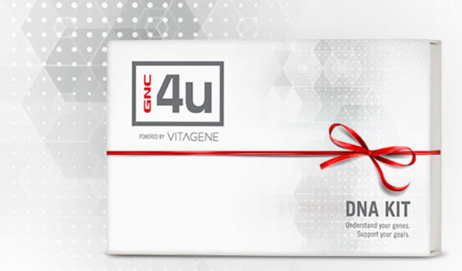 GNC 4U DNA Kit & Supplements