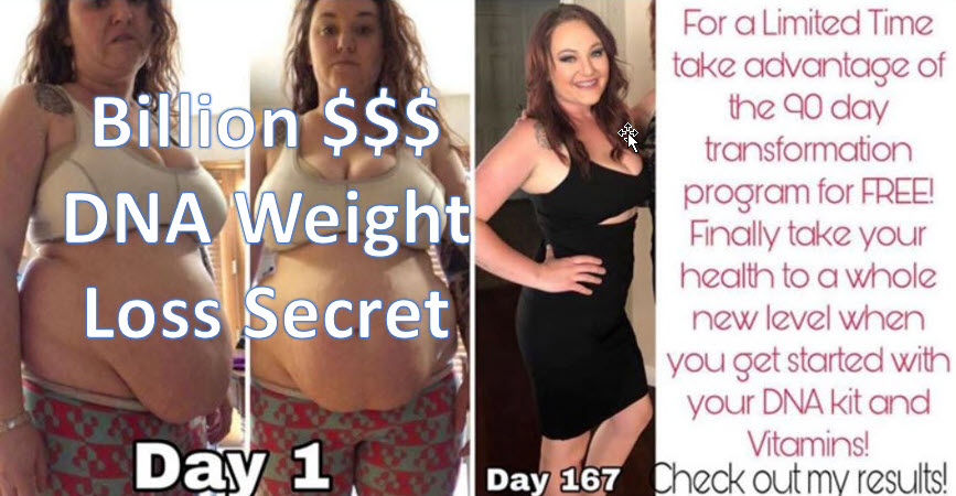 Billion $$ DNA Weight Loss Secret