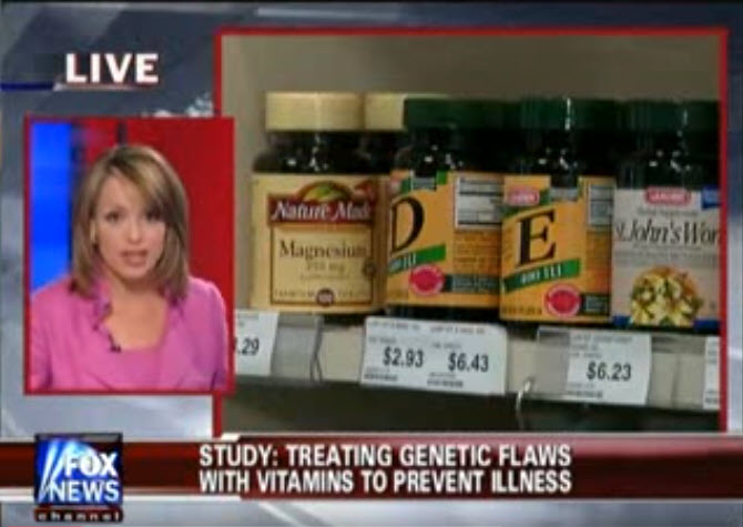 Treating Genetic Flaws with Vitamins