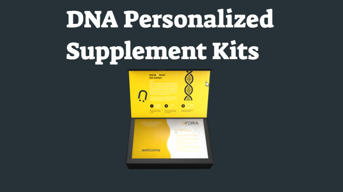 DNA-Personalized Supplement Kits