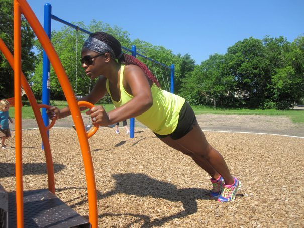 10 Exercises You Can Do at a Playground and Get a Full Body Workout